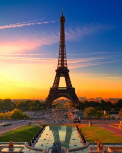 Цветни емоции в Париж с полет от София