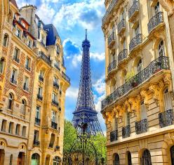 Първа пролет в Париж, Франция с полет от София
