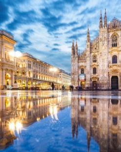 Коледно настроение в Милано, Италия - самолетна програма от София