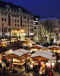 Коледа в  Будапеща  и  Виена с включена вечеря на 24.12.2019