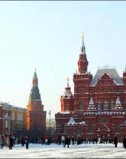 Нова година в Русия - Москва и Санкт Петербург с полет от София